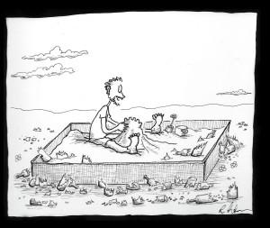 steve in sandbox
